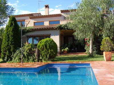 Photo for Beautiful villa with pool in Hospitalet de l'Infant for 8 or 10 people