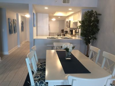 Photo for A newly renovated 2-BR beachfront rental perfect for families and couples.