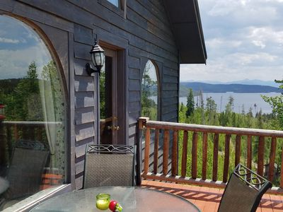 Photo for Gorgeous in-town Cabin w/ great Views & Reviews! wi-fi, close to snowmo trails!