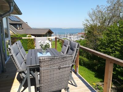Photo for Fantastic, sunny apartment with Baltic Sea view and balcony near the beach