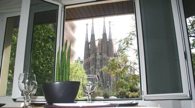Photo for Apartment overlooking the Sagrada Familia, completely renovated and bright