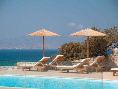 Photo for Wake up with the sounds of nature, view to the beach, warm Naxian hospitality.