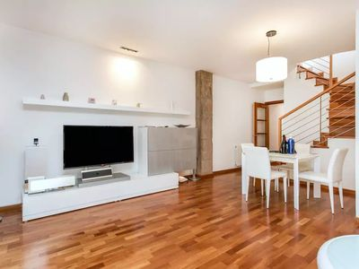 Photo for In the center of Barcelona with Internet, Air conditioning, Lift, Terrace (740888)