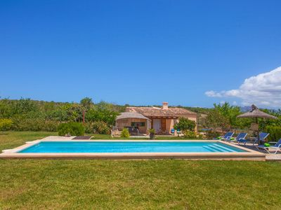 Photo for BARRANC DE SON FULLÓS - Great country house with private pool in a quiet area.