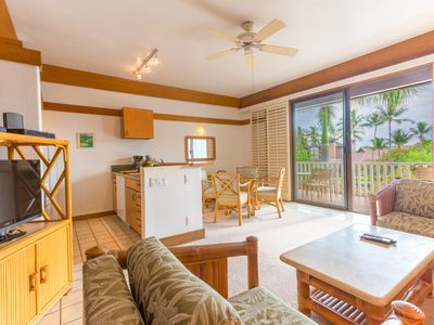 Photo for (KP302) Cozy Stocked Poipu Condo Walk to Beach and Dining