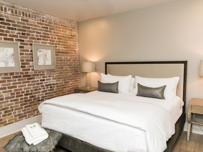 Photo for New Orleans Warehouse District: Modern Rustic Condo | 2 Bedroom 2 Bath