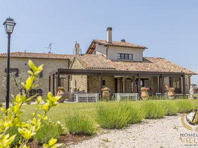 Photo for Villa Panorama, historic country house, with private pool