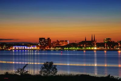 Your scenic view of Charlottetown.