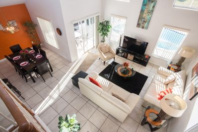 View of Living Room from Upstairs