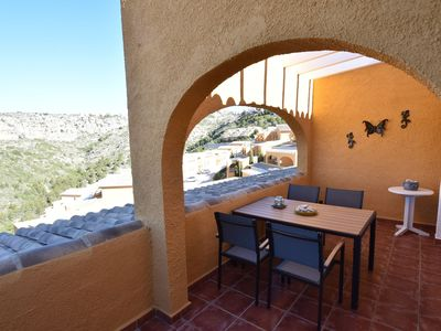 Photo for Modern apartment in Moraira with beautiful views 5 minutes from the beach