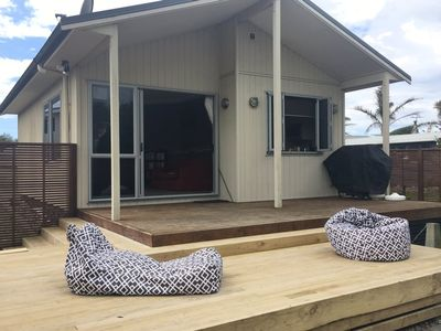 Photo for Private Beach Oasis in Pukehina