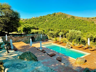 Photo for 85M2 standing heated pool