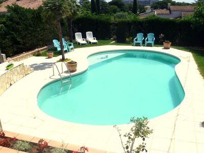 Photo for *** SPECIAL OFFER *** Beautiful 3-star app. in villa near Cannes, WIFI-GARDEN-BBQ
