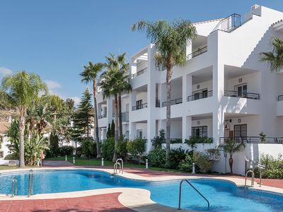 Photo for Fantastic Apartment with Pool and Stunning Views Across Golf Course and Mountain