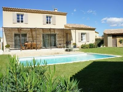 Photo for Beautiful house in the Luberon with pool door