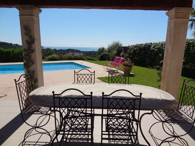 Photo for Elegant Villa With Private Pool & Fabulous Panoramic Views Of The Mediterranean