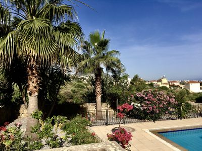 Photo for Exclusive Villa set in palm trees & tropical gardens large pool brillant views