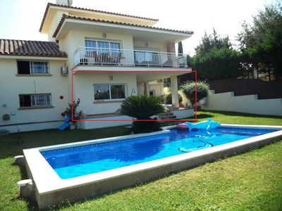 Photo for Apartment for 4 persons with private pool and garden