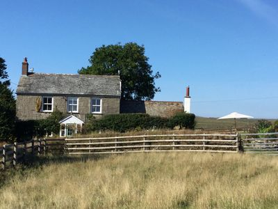 Photo for Idyllic family farmhouse in breathtaking moorland setting.