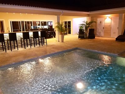 Photo for Luxury Villa w/ Infinity Pool *Staff Incl.*Hot Tub* Billiards Room*High Security