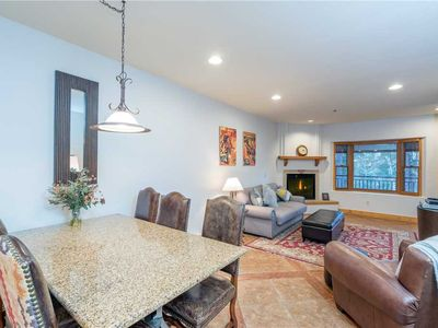 Photo for Spacious Mountain Village Condo With Room for Six Guests