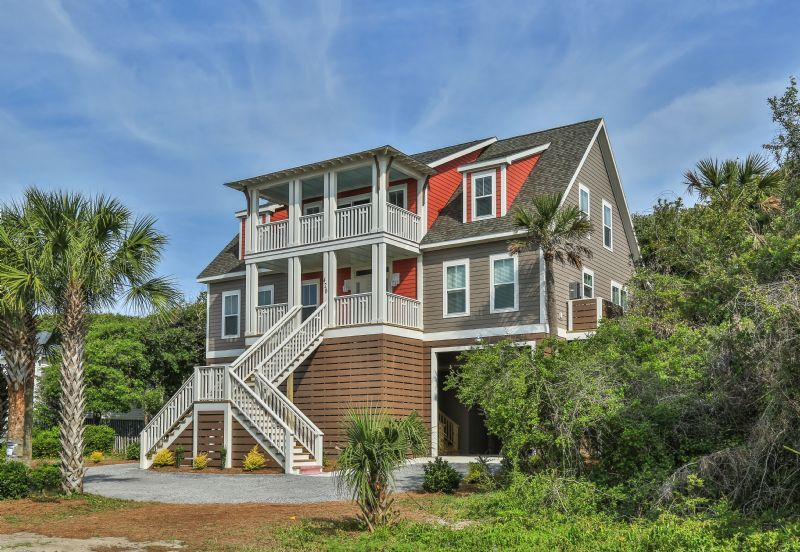 Casa per 10 persone a folly beach 864685 for Portico schermato modulare