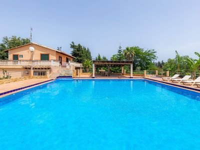 Photo for Air-Conditioned Country Villa with Large Pool, Multiple Terraces, Extensive Garden and Wi-Fi