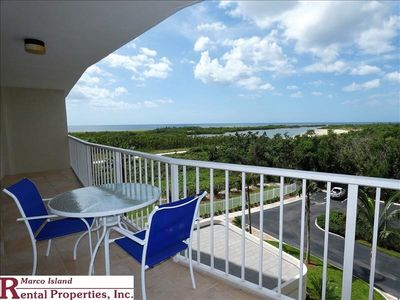 Photo for South Seas T4-508; Beautiful Northwest view of the Gulf and Tigertail beach from this condo!