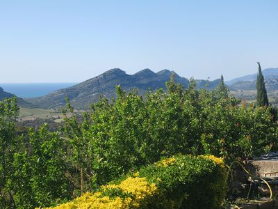 Photo for picturesque house at the intersection of balagne Cap Corse, charming promontory