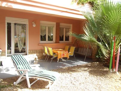 Photo for Apartment sleeps 5 to 80 m from the beach and close to all shops