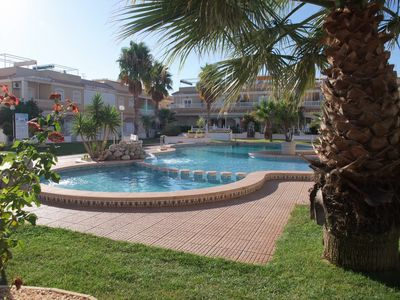 Photo for Ground Floor 2 Bedroom Apartment With A/C, WiFi Private Front Facing Garden