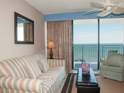 Direct Oceanfront Views * High-Rise Myrtle Beach Condo * 16th Floor at OFP!