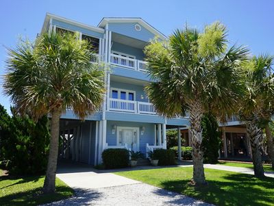 Photo for OIW 135, Excellent oceanfront property located in the exclusive, gated community of Ocean Isle West.