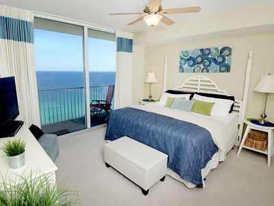 Photo for Breathtaking GULF FRONT MASTER BEDROOM, Private Bunk Room, FREE BEACH SERVICE