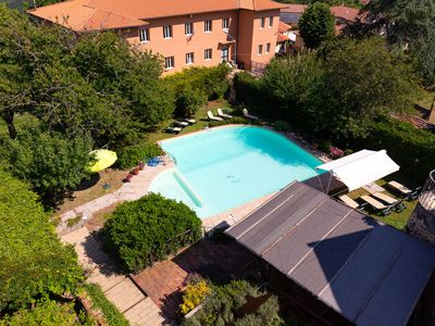 Photo for Pretty Apartment in Boccheggiano with Swimming Pool