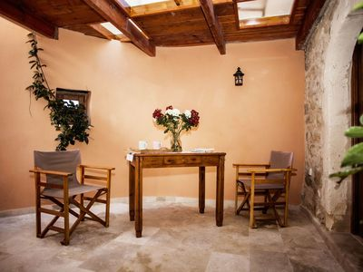 Photo for Stunning private villa for 6 guests with A/C, WIFI, TV and balcony