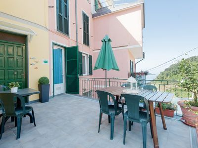 Photo for Large Apartment Private Terrace, Parking, WI-FI, Air Conditioning