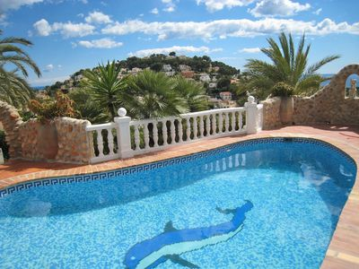Photo for This 2-bedroom villa for up to 4 guests is located in Benissa and has a private swimming pool.......
