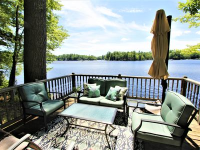 Photo for Little Sebago Lake, Lake House, Gray Maine