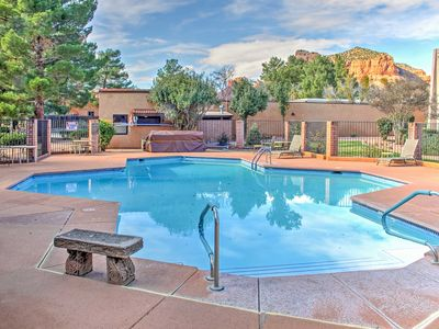 Photo for Sedona Condo w/Deck - Pool & Tennis Courts Access!