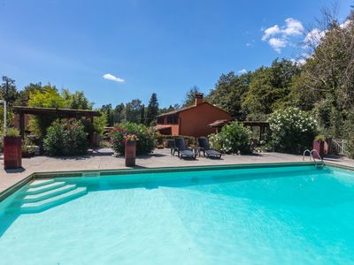 Photo for Farmhouse set in 14 acres with Private Pool