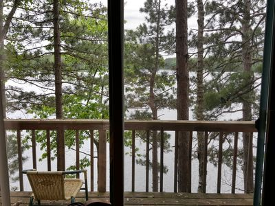 Photo for Immaculate northwoods  cabin on beautiful Moccasin Lake.