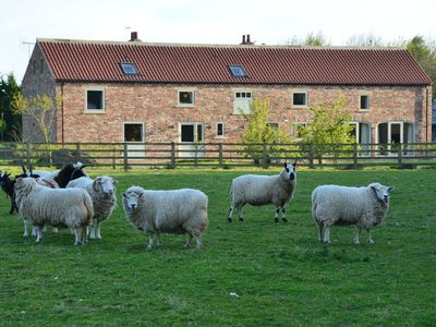 Photo for NEW Luxury Barn Conversion, near YORK. 8 + 2  family, groups, couples, friends