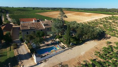 Photo for RENTAL OF A MAS WITH POOL IN A VINEYARD IN FIELD CAMARGUE