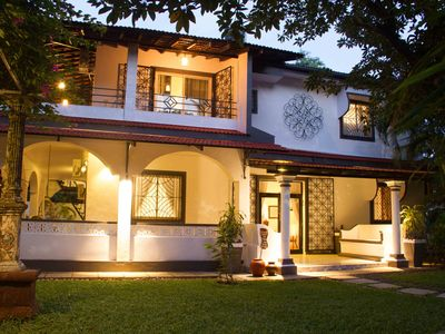 Photo for 5 Bedroom Heritage Goan Villa
