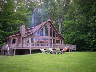 Photo for Buck's Branch - Borders National Forest! Outdoor Hot Tub! Dog Friendly!
