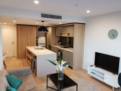 Photo for Bright One Bedroom Apartment - New!!