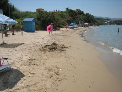 Psarou Beach 250m from NEMOROSA