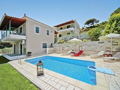 Photo for 2 bedroom Villa, sleeps 4 in Aselinos with Pool, Air Con and WiFi
