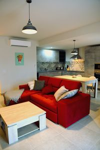 JB Flats 16 apartment in Bugibba with WiFi, air conditioning, balcony & lift.